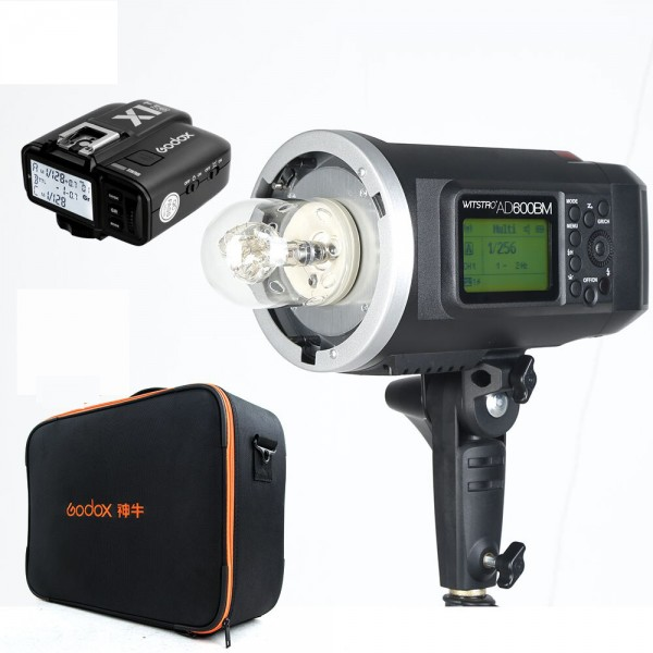 Godox AD600BM All-In-One Outdoor Flash X1T-O Fro Olympus/Panasonic 1 Light Combo Bag Set