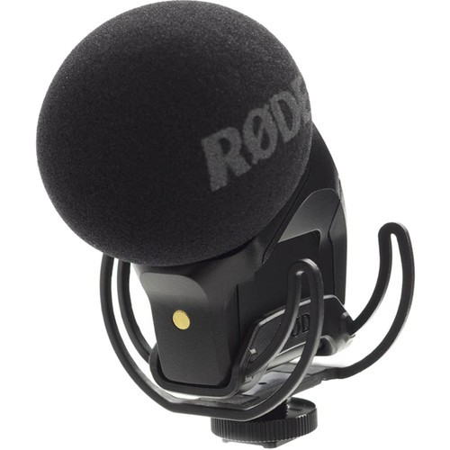 Rode Stereo VideoMic Pro Rycote with Deadkitten Fur Windshield Kit