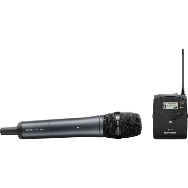 (Special Deal) Sennheiser EW 135P G4 Camera-Mount Wireless Cardioid Handheld Microphone System