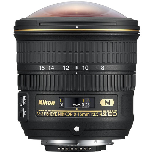 Nikon 8-15mm F3.5-4.5E ED AF-S Fisheye