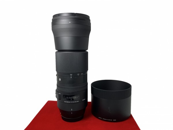 [USED-PJ33] Sigma 150-600MM F5-6.3 DG Contemporary (Canon), 95% Like New Condition (S/N:51667615)