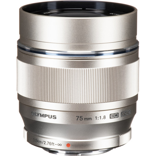 Olympus 75mm F1.8 M.Zuiko (Silver)