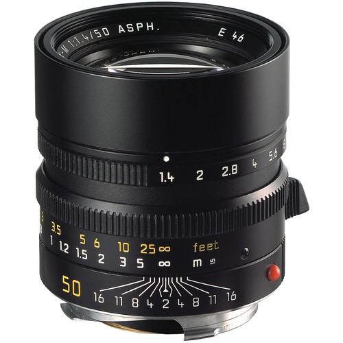 Leica 50mm F1.4 Summilux-M ASPH. - Black (11891)