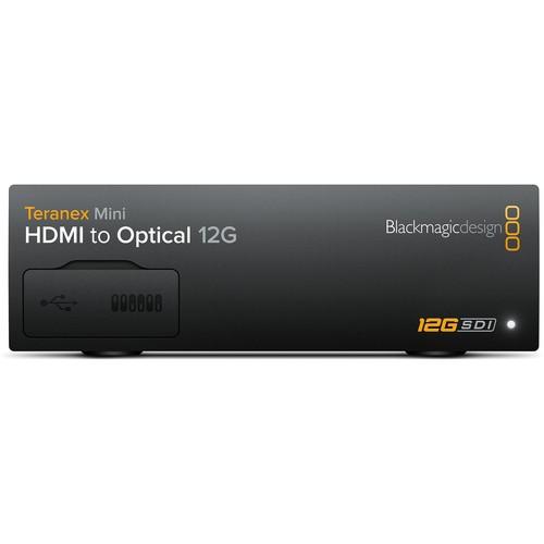 Blackmagic Design Teranex Mini HDMI to Optical 12G Converter (Optical Fiber Module Not Included)