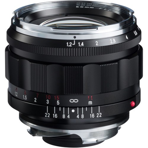 Voigtlander 50mm F1.2 Nokton Aspherical Lens (For Leica M-Mount)