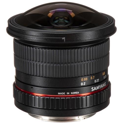 Samyang 12mm F2.8 ED AS NCS Fisheye Lens for Canon EF Mount