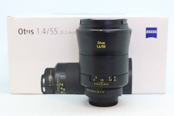 [USED-PUDU] ZEISS 55MM F1.4 Otus ZF.2 (NIKON) 88%LIKE NEW CONDITION SN:51514848