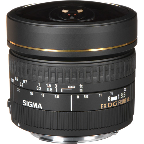 Sigma 8mm F3.5 EX DG Circular Fisheye Lens (Nikon)