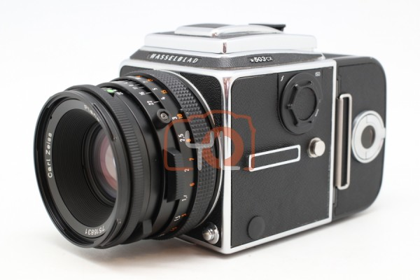 [USED-PUDU] Hasselblad 503CX body With 80mm F2.8 Planar 95%LIKE NEW CONDITION SN:11EP25897