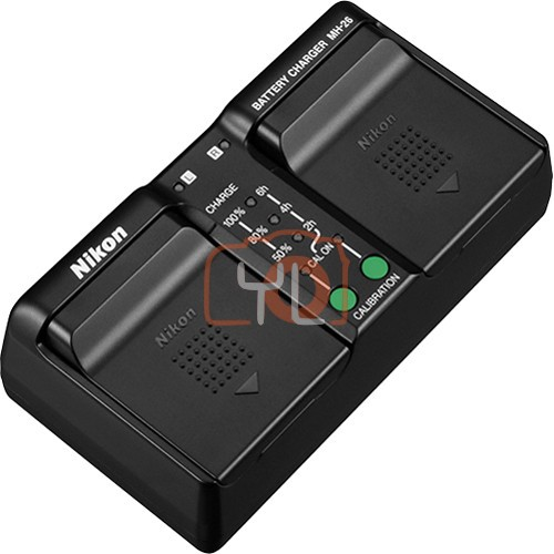 Nikon MH-26 Dual Battery Charger
