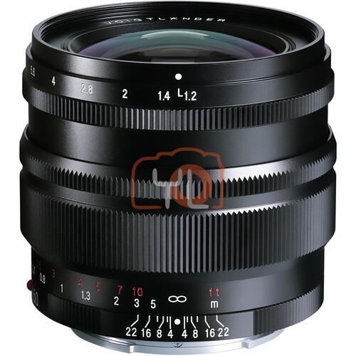 Voigtlander Nokton 50mm F1.2 Aspherical SE Lens (For Sony E)