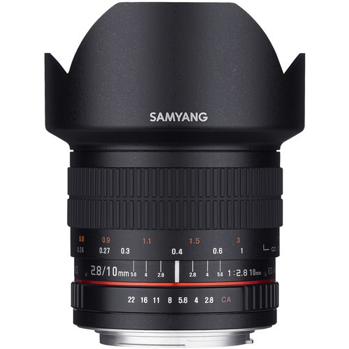 Samyang 10mm F2.8 ED AS NCS CS Lens for Pentax K Mount
