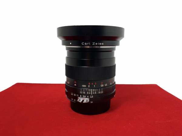 [USED-PJ33] Zeiss 25MM F2.8 Distagon T* ZF (Nikon), 85% Like New Condition (S/N:15621543)