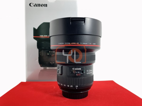 [USED-PJ33] Canon 11-24mm F4 L EF USM Lens, 90% Like New Condition (S/N:3310001312)
