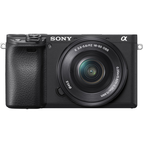 Sony a6400 (Black) + E PZ 16-50mm F3.5-5.6 OSS [Free 64GB SD Card]