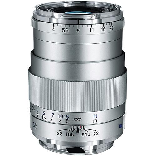 ZEISS Tele-Tessar T* 85mm F4 ZM Lens (Silver)