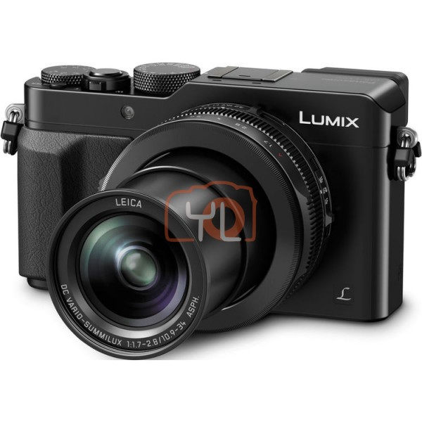 Panasonic Lumix DMC-LX100 - Black (Free 16GB SD Card & Carrying Case)