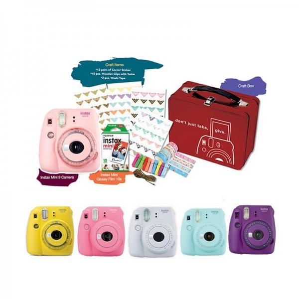 Fujifilm Instax MiniI 9 Limited Edition Craft Kit