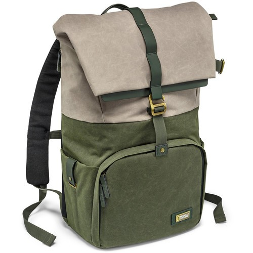 National Geographic NG RF5350 NG Rain Forest Camera and Laptop Backpack (Medium, Green)