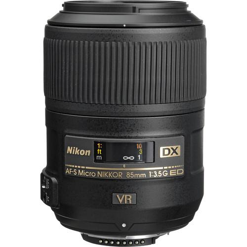 Nikon DX 85mm F3.5G AF-S VR Micro