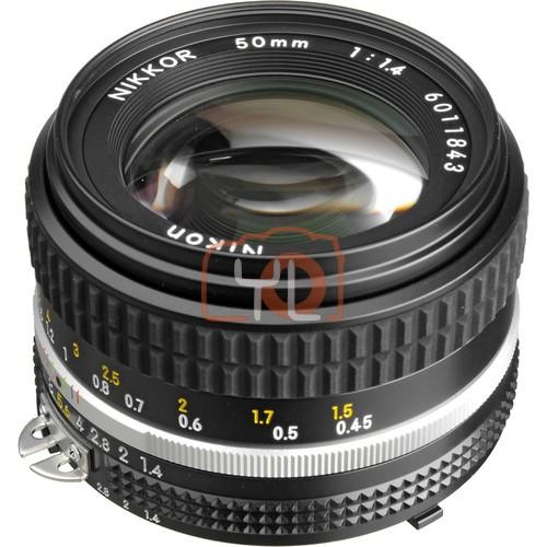 Nikon NIKKOR 50mm f/1.4 Lens