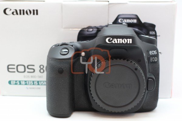 [USED-PUDU] Canon Eos 80D Camera 95%LIKE NEW CONDITION SN:031021003797