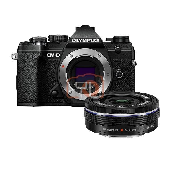 Olympus OM-D E-M5 Mark III + M.Zuiko 14-42mm F3.5-5.6 EZ - Black [Online Redemption Extra Battery + 32GB SD Card UHS-II + Olympus Bag]