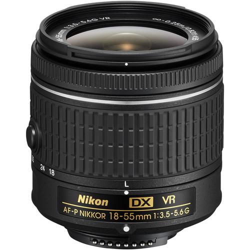 Nikon DX 18-55mm F3.5-5.6G AF-P VR