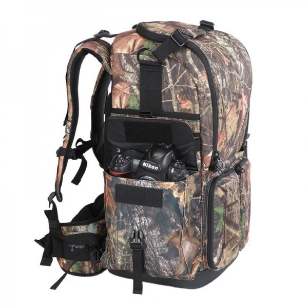 (SPECIAL DEAL) Benro Falcon 800 Backpack for Camera - Camouflage