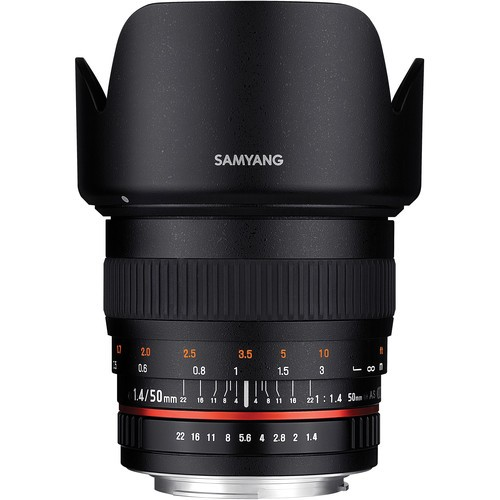 Samyang 50mm F1.4 AS UMC Lens for Pentax K