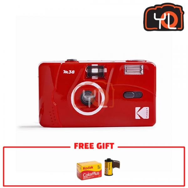 Kodak M38 Film Camera - RED (Free Kodak ColorPlus)