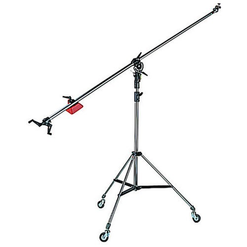 Manfrotto 025BS Super Boom with 008BU Stand - Black