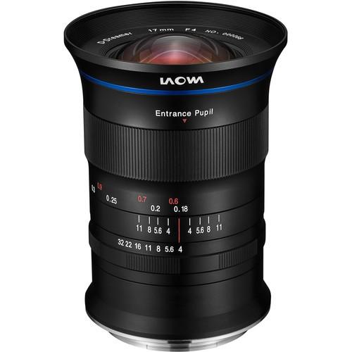 Laowa 17mm f/4 GFX Zero-D (Fujifilm GFX)