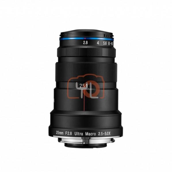 Laowa 25mm f/2.8 2.5-5X Ultra Macro Lens (Leica/Panasonic/Sigma L-Mount)