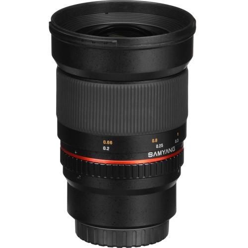 Samyang 16mm F2.0 ED AS UMC CS Lens for Canon