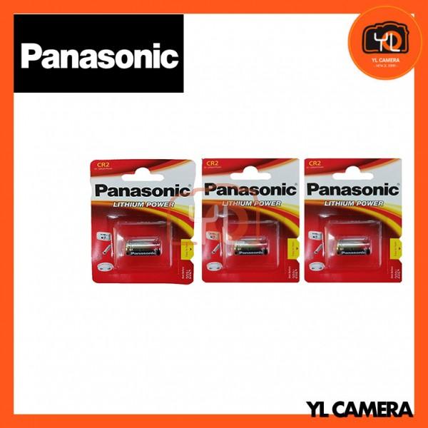 Panasonic CR2 Lithium Battery 3 Pack