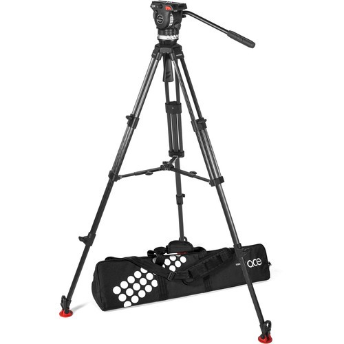 (Pre-Order) Sachtler Ace XL Tripod System with CF Legs & Mid-Level Spreader (75mm Bowl)