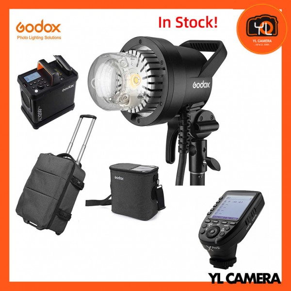 Godox AD1200Pro Battery Powered Flash System With XPro TTL Wireless Flash Trigger for Sony Combo Set