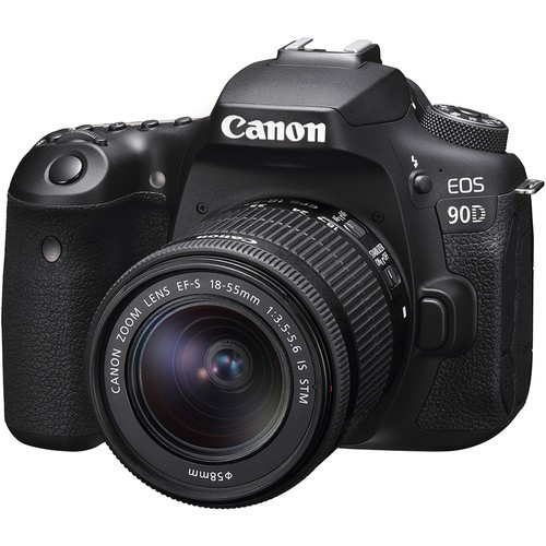 Canon EOS 90D + EF-S 18-55mm F3.5-5.6 IS STM (Free 32GB SD Card + Camera Bag)