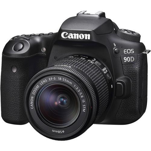 Canon EOS 90D + EF-S 18-55mm F3.5-5.6 IS STM (Free 32GB SD Card + Camera Bag)