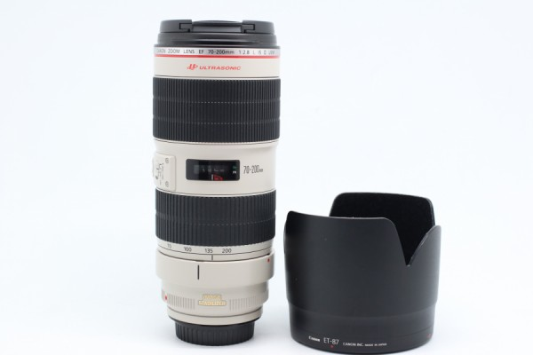 [USED-PUDU] CANON 70-200MM F2.8 EF L IS II USM 95%LIKE NEW CONDITION SN:4820004197