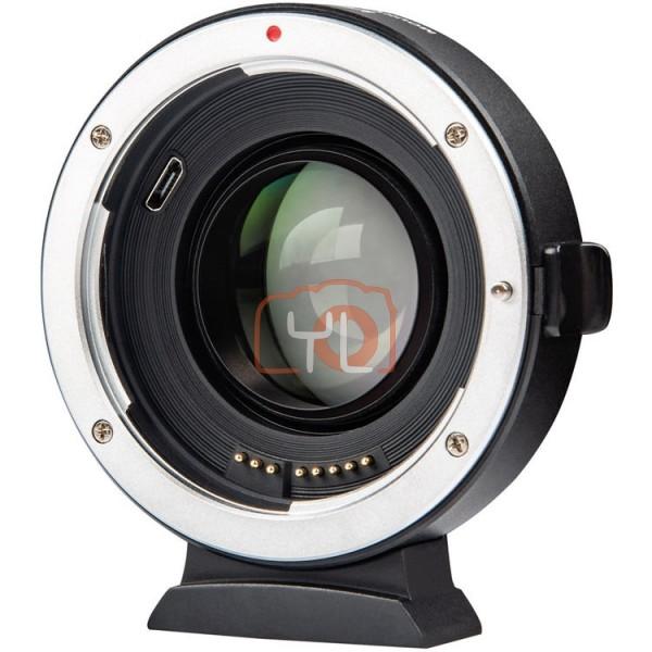 Viltrox EF-FX2 Canon EF/EF-S - Fujifilm X-Mount 0.71x Booster Lens Mount Adapter