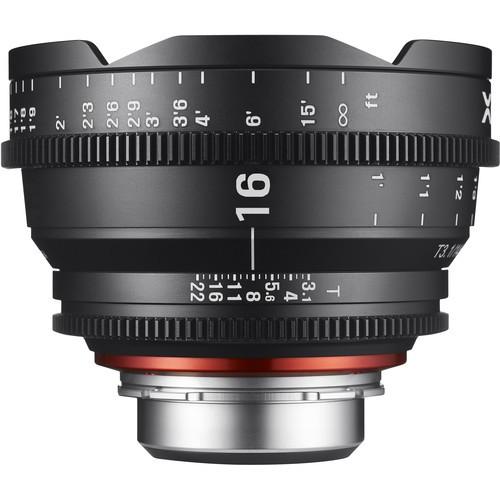Samyang Xeen 16mm T2.6 Lens for Nikon F