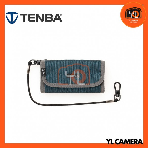 Tenba Tools Reload SD & CF Card Wallet (Blue)