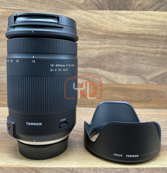 [USED @ YL LOW YAT]-Tamron 18-400MM F3.5-6.3 Di II VC HLD Lens For Nikon,95% Condition Like New,S/N:055970