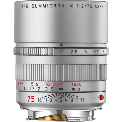 Leica 75mm F2 APO-Summicron-M ASPH. - Silver (11701)