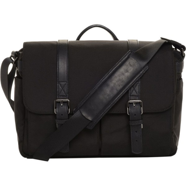 ONA The Nylon Brixton Camera and Laptop Messanger Bag (Black)