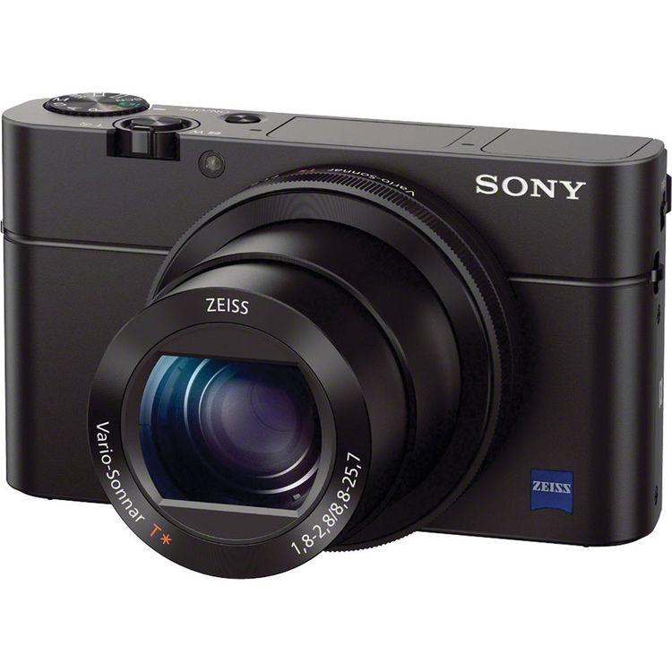 Sony RX100 Mark III [Free 16GB SD Card + NP-BX1 + RX L.E Camera Case]