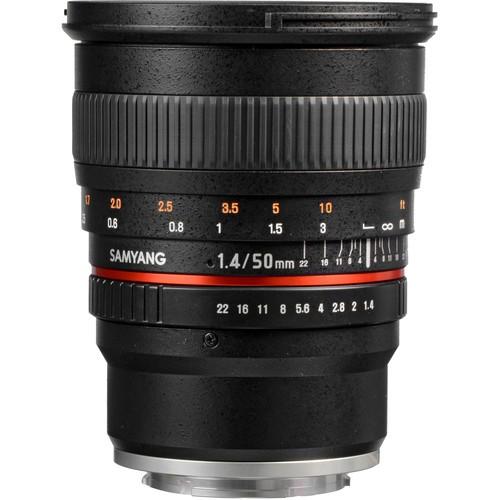 Samyang 50mm F1.4 AS UMC Lens for Sony E