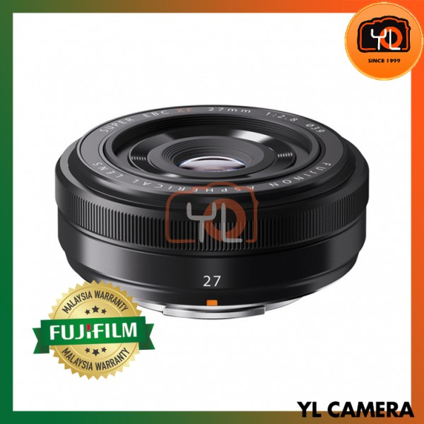 Fujifilm XF 27mm F2.8 R (Black)